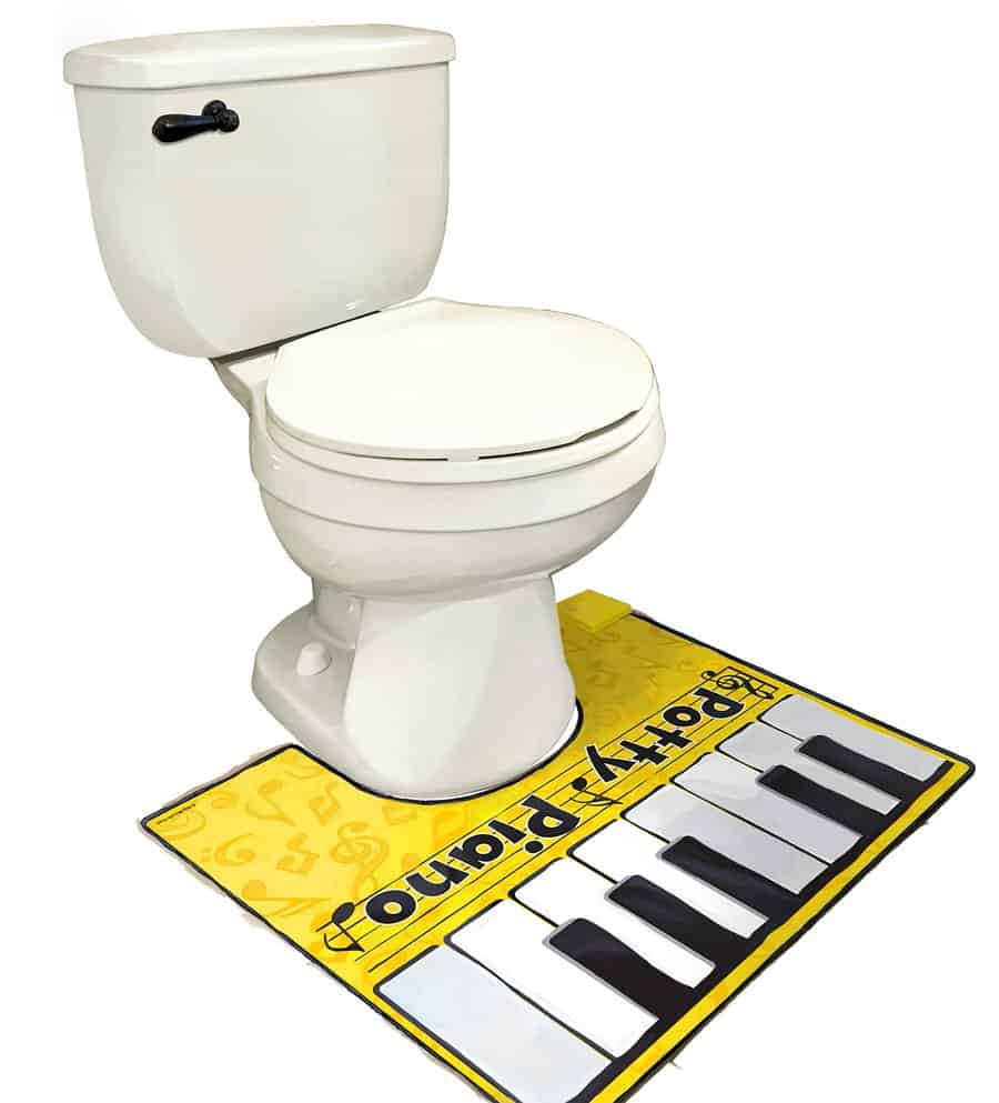 Big Mouth Potty Piano Gift for Him