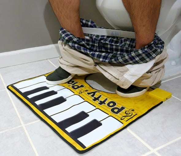 Big Mouth Potty Piano Things to Do in the Bathroom