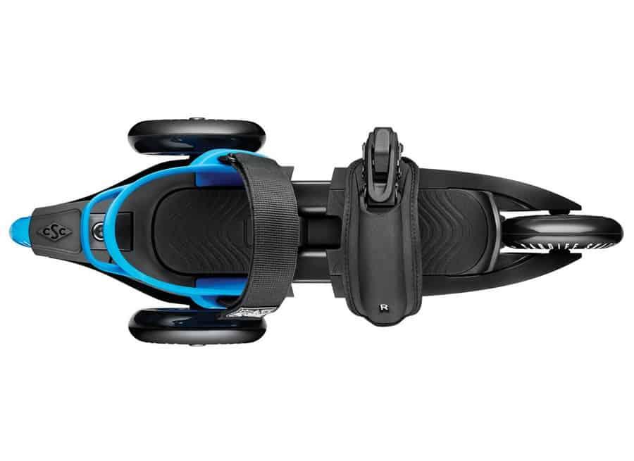 Cardiff Skate Cruiser 3-Wheel Skates Better than Roller Blades