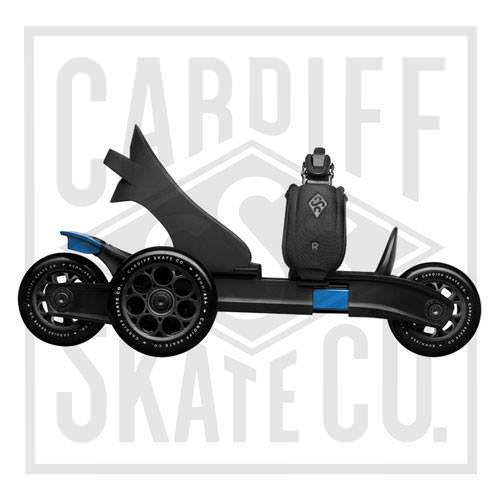 Cardiff Skate Cruiser 3-Wheel Skates Side