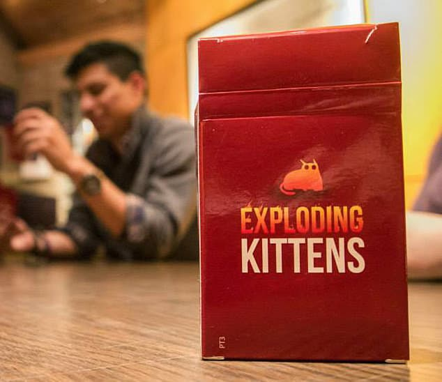 Exploding Kittens Card Game Buy for the Kids