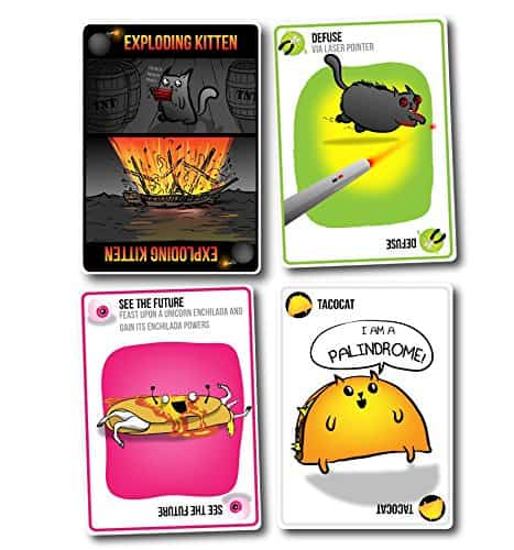 Exploding Kittens Card Game TacoCat