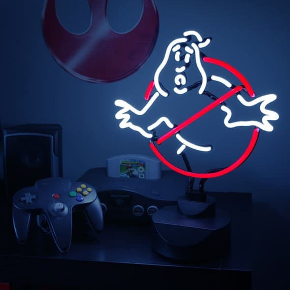 Ghostbusters 12inch Neon Sign Cool Night Light to Buy