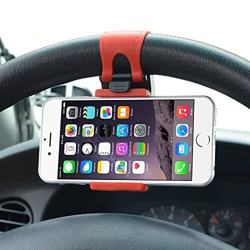 Hands Free Steering Wheel Phone Holder Car Accessory