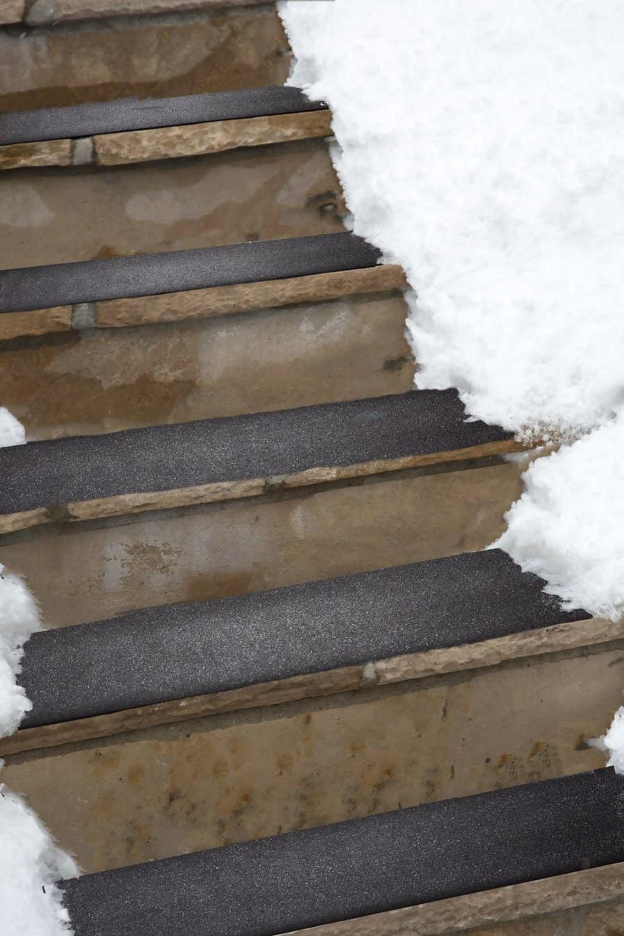 HeatTrak Residential Snow-Melting Stair Mat Be Safe this Winter