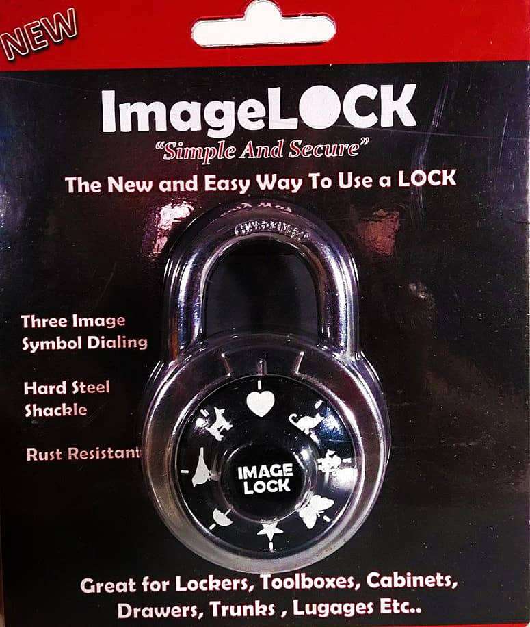 Imagelock Image Combination Padlock Creative Product