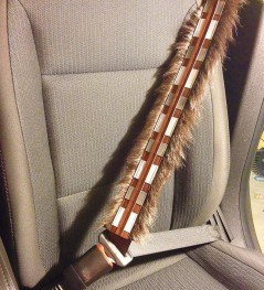 Drive safely and strap on your Chewie!
