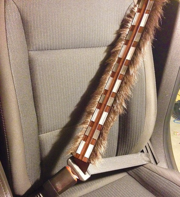 Jigsaw Hearts Chewbacca Seat Belt Covers Cool Star Wars Product to Buy