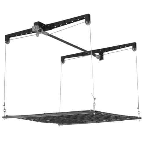 Racor Cable-Lifted Storage Rack Buy for Garage