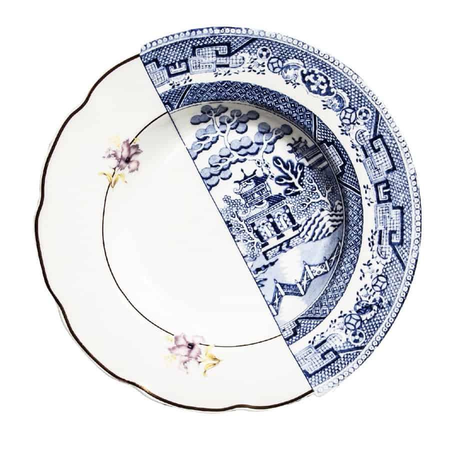 Seletti Hybrid Dinner Plate Eccentric Design