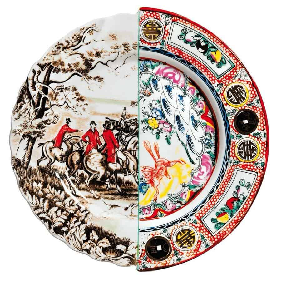 Seletti Hybrid Dinner Plate Unique Design