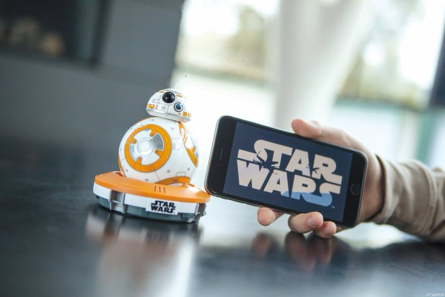 Sphero BB-8 App Enabled Droid Syncs with Iphone