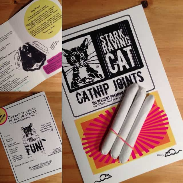 Stark Raving Cat Catnip Joints Pack