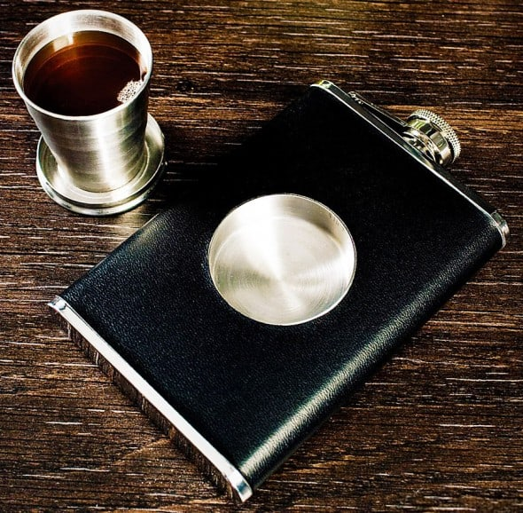 Stone Cask Shot Flask Hipster Gift Idea