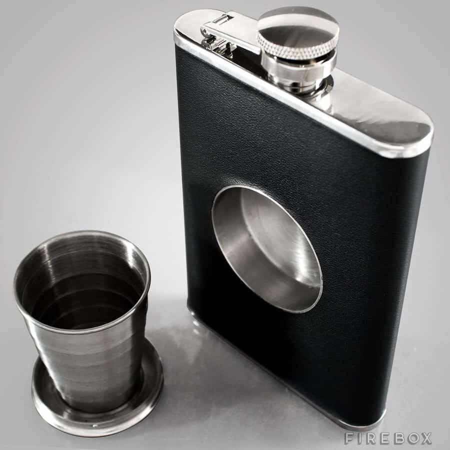 Stone Cask Shot Flask Sanitary Way to Share Drink