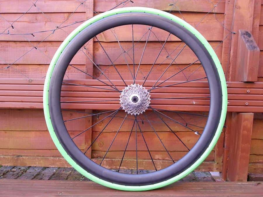 Tannus Solid Bike Tire Green