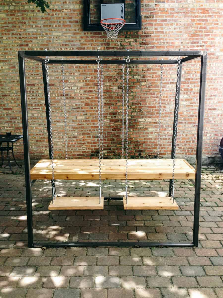 The Last Workshop Swingset Table Designer Furniture to Buy