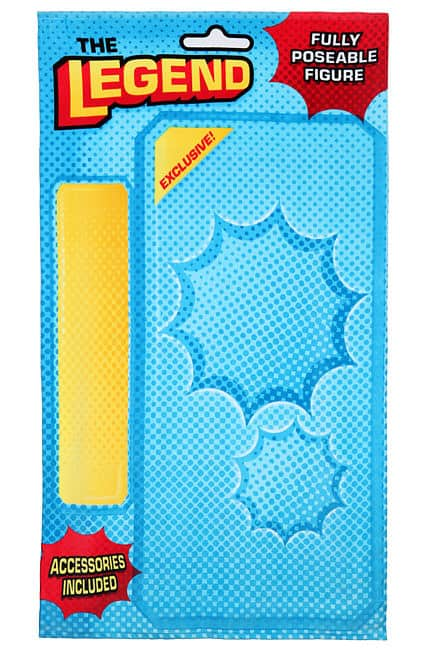 Thinkgeek Action Hero Beach Blanket Creative Product Design