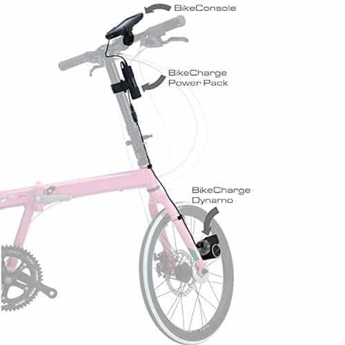 Tigra Sport BikeCharge Dynamo & Bicycle USB Charger Diagram