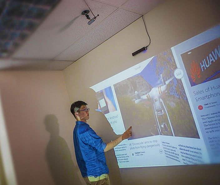 Ubi Interactive Ubi Touch Kit White Board Presentation