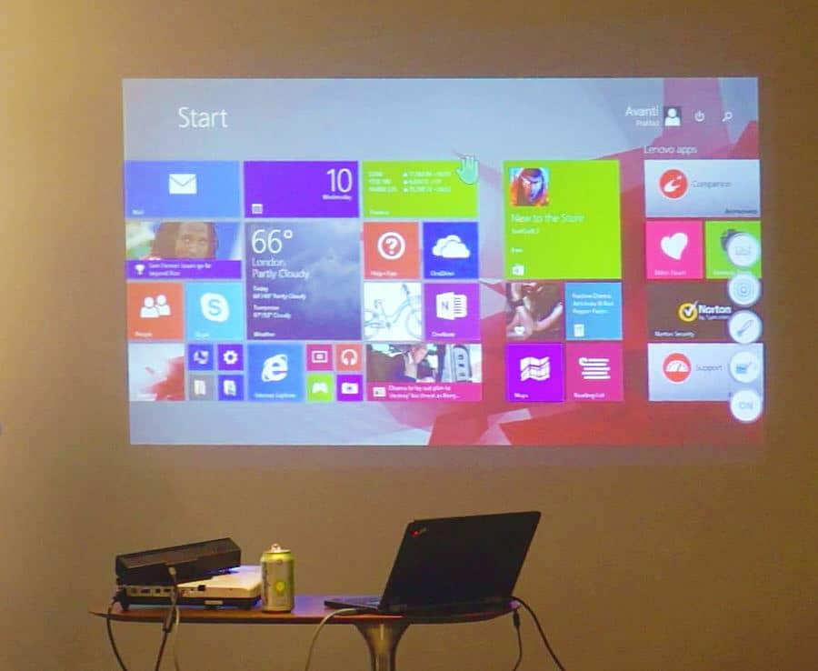 Ubi Interactive Ubi Touch Kit Windows on Projector
