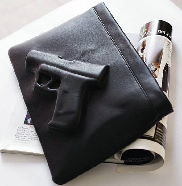 3D Gun Handbag Gift Idea to Her