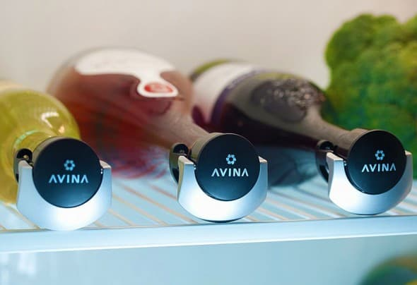 Avina Locking Wine Stopper Cool Kitchen Gadget to Buy