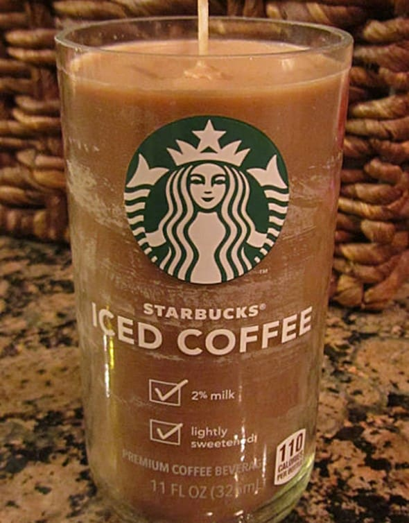 Candles by OC Mocha Scented Starbucks Candles Gift for Mom