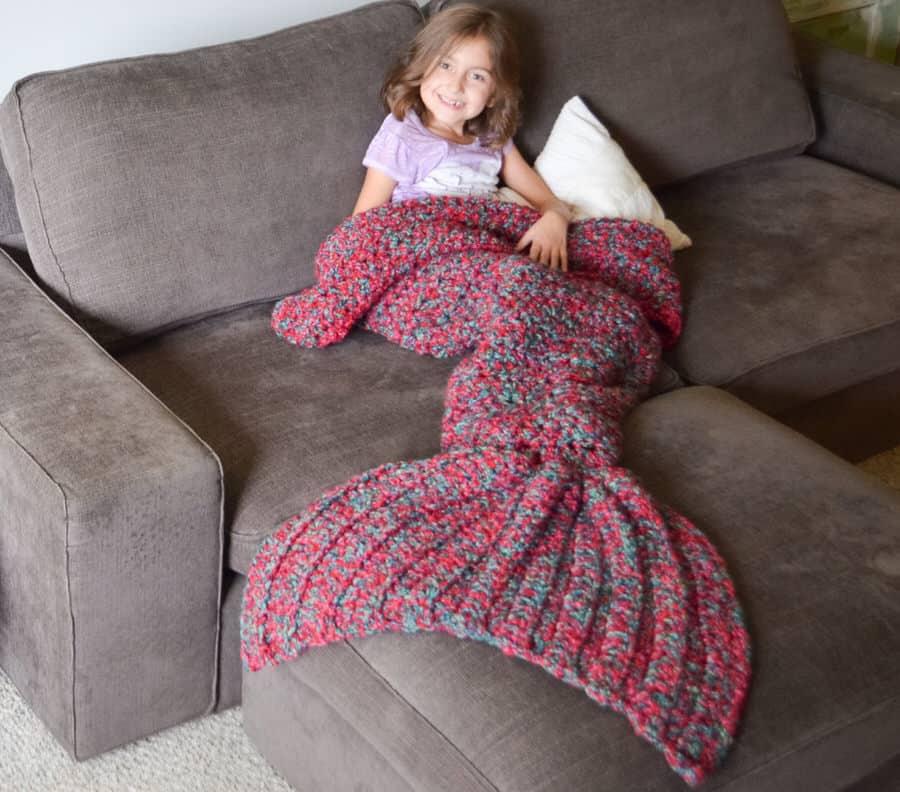 Cass James Designs Mermaid Blanket - NoveltyStreet