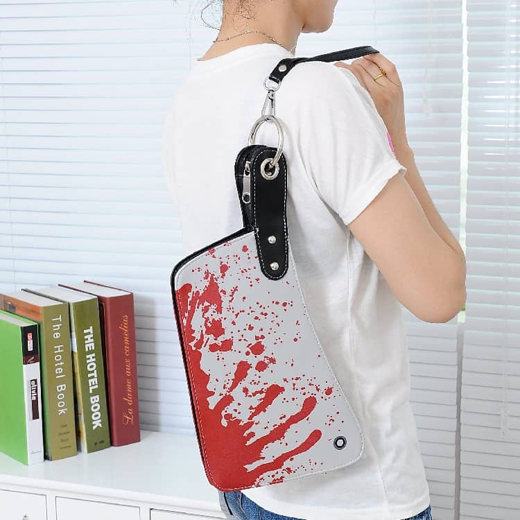 Cleaver Clutch Bag Cool Novelty Item to Buy