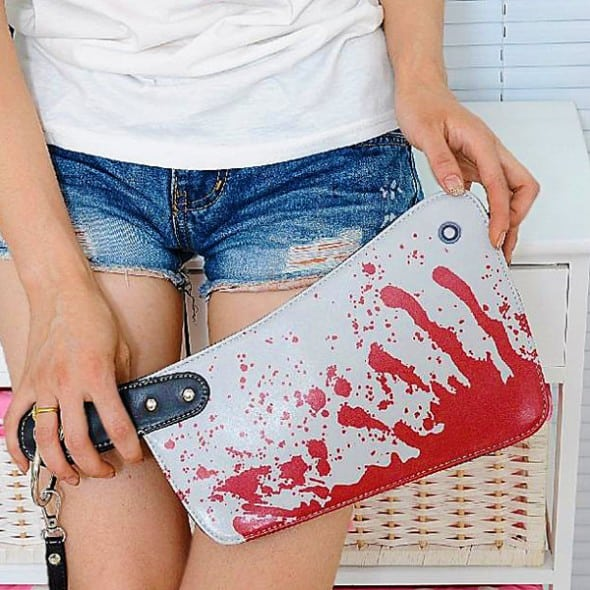 Cleaver Clutch Bag Cute Novelty Fashion Halloween