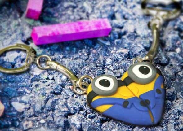 Dizzy Day Dreamz Minion Friendship Necklace Cute Girlfriend Gift Idea