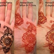 Electronic girl glow in the dark henna kit noveltystreet henna tattoos that can be seen even in complete darkness since this is a do it yourself kit you can create any design and apply it anywhere you want solutioingenieria Choice Image