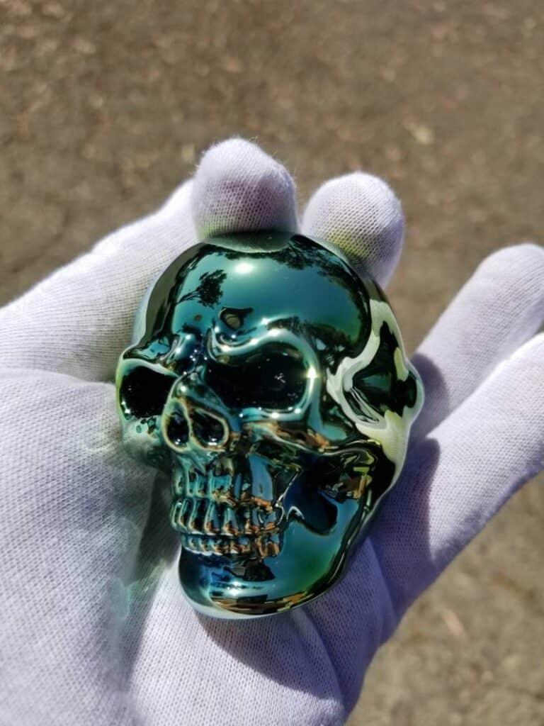 Elevator Glassworks Sick Skull Pipe Baller Gift Idea