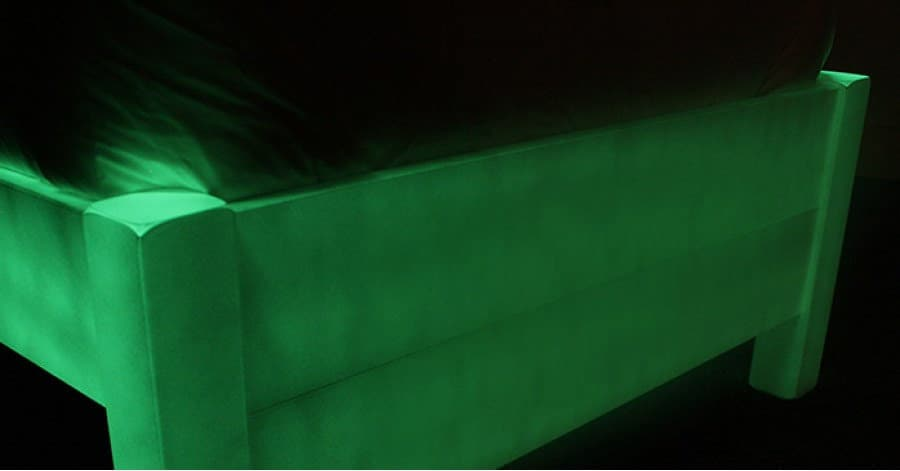 Get Laid Beds Glow In The Dark Bed Footer Green