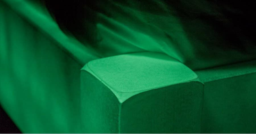 Get Laid Beds Glow In The Dark Bed Post Green Detail