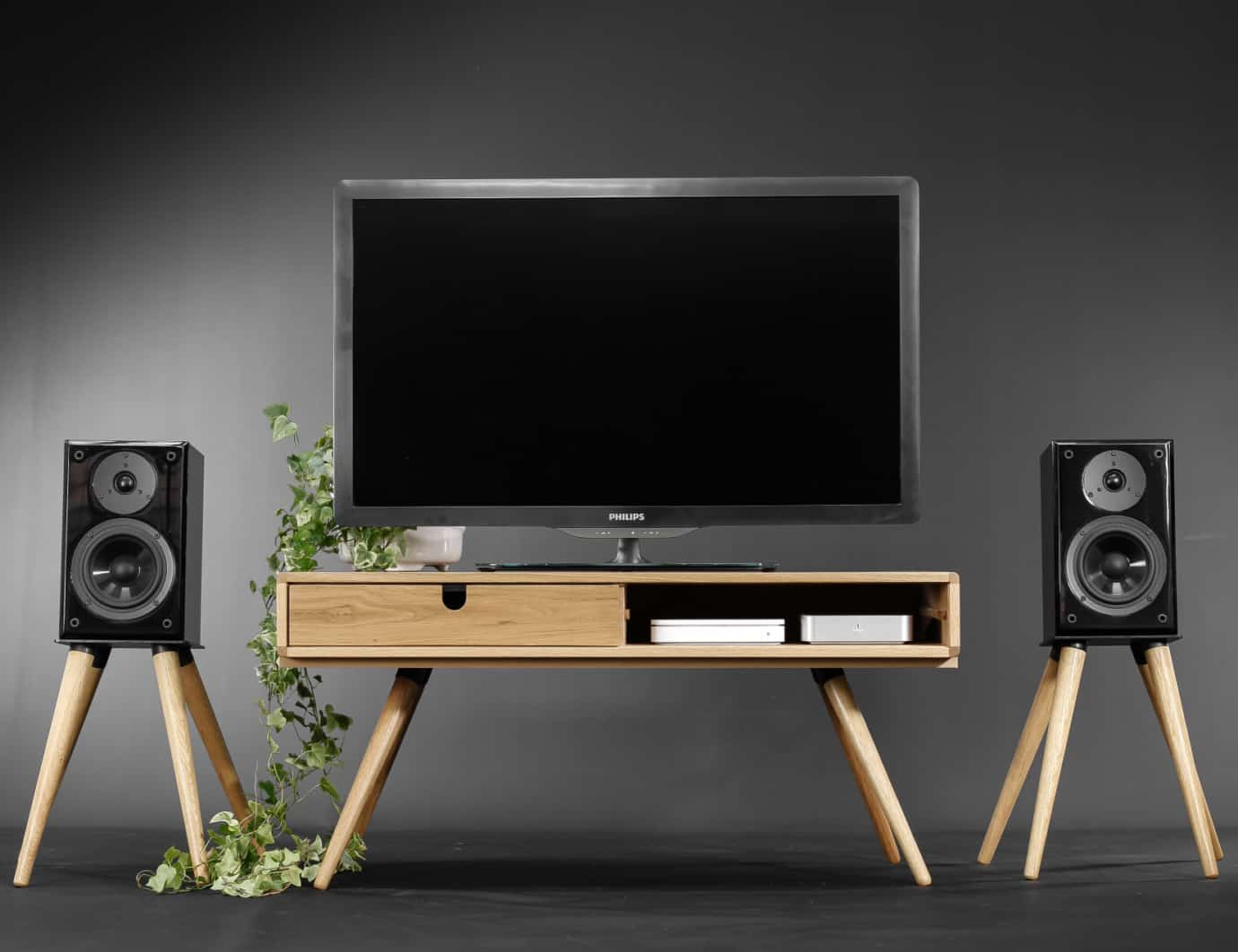 Habitables Audio Speaker Stand Set