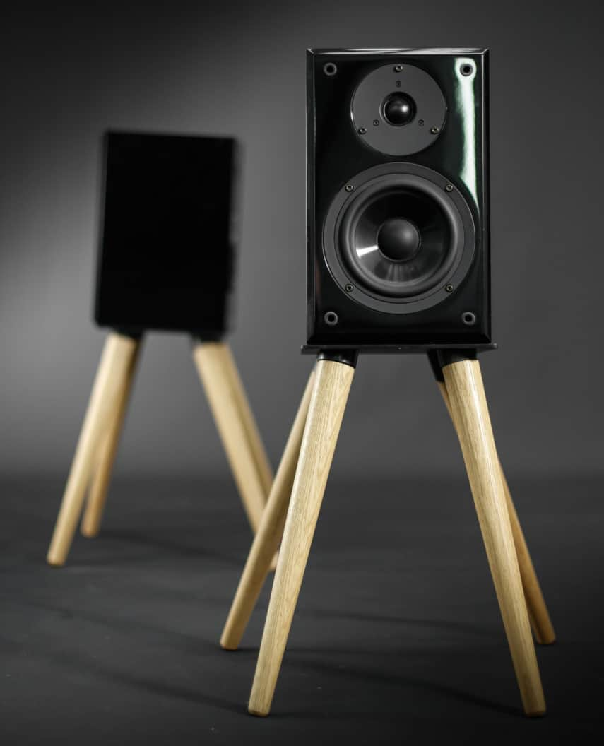 Habitables Audio Speaker Stand Unique Furniture Design