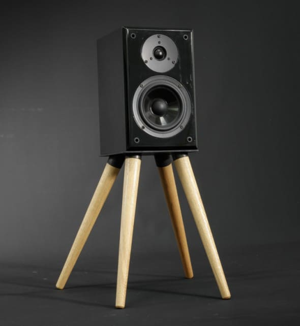 Habitables Audio Speaker Stand Weird Furniture to Buy