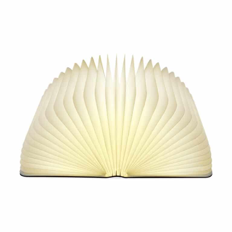 Lumio Folding Wooden Book Lamp Modern Lighting