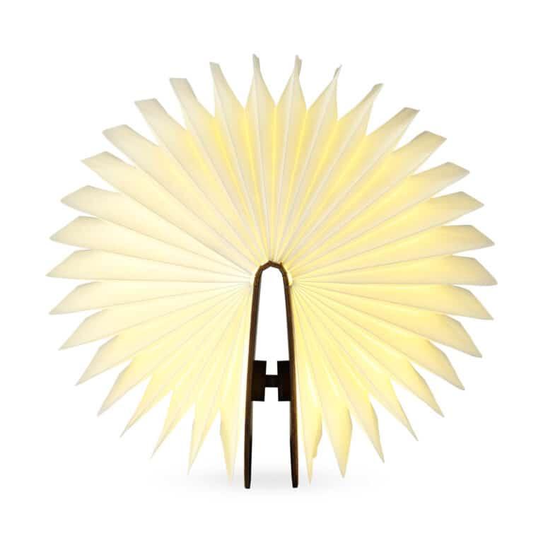 Lumio Folding Wooden Book Lamp Origami Lighting