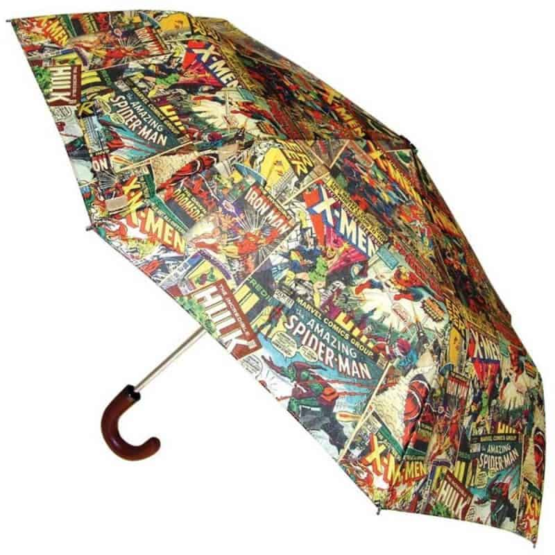 Marvel Comic Book Umbrella Gift Idea for Kids