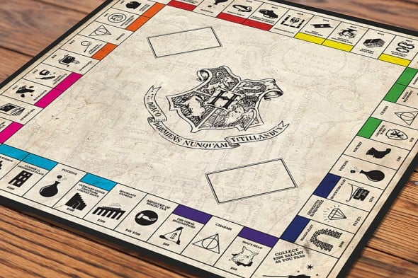 Mischiefffmanaged Harry Potter Monopoly Cool Game to Buy