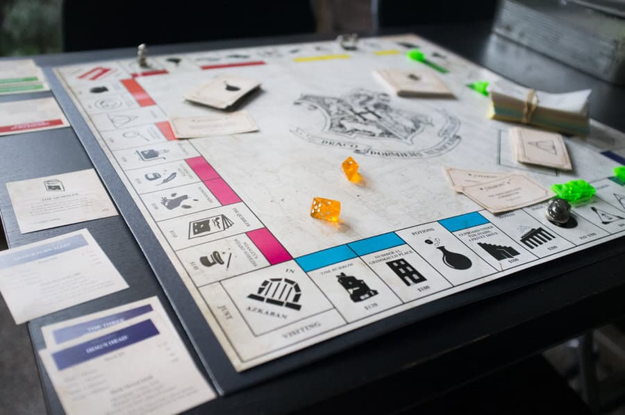 Mischiefffmanaged Harry Potter Monopoly Movie Themed Game