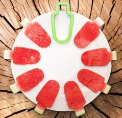 Slice watermelons like a real ice cream man!