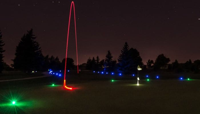 Night Sports USA Light Up Golf Ball  Boyfriend Gift Idea