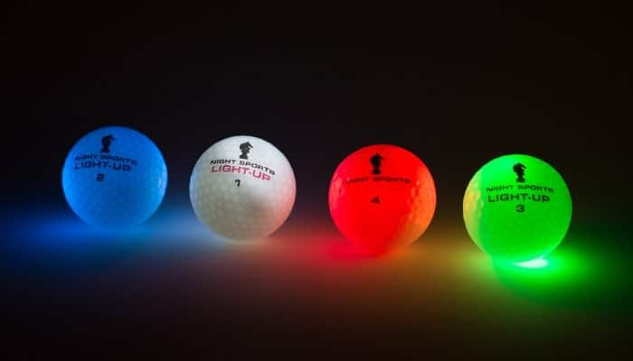 Night Sports USA Light Up Golf Ball  Buy Cool Fathers Day Gift