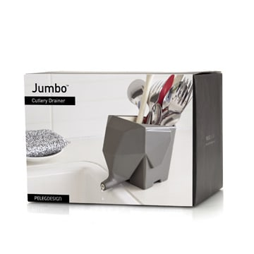 Peleg Design Jumbo Cutlery Drainer Box