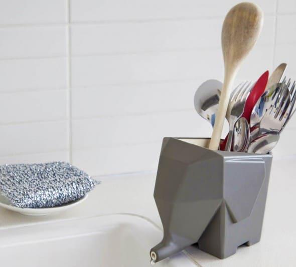 Peleg Design Jumbo Cutlery Drainer Cute Kitchen Accessory to Buy