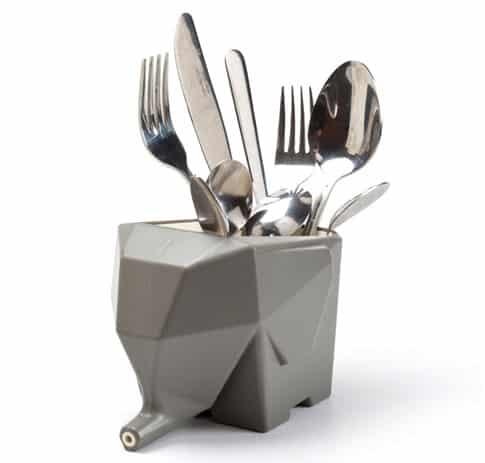 Peleg Design Jumbo Cutlery Drainer Cute Kitchen Novelty Item